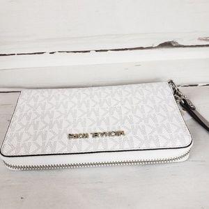 Michael Kors Jet Set  Black wallet phone case